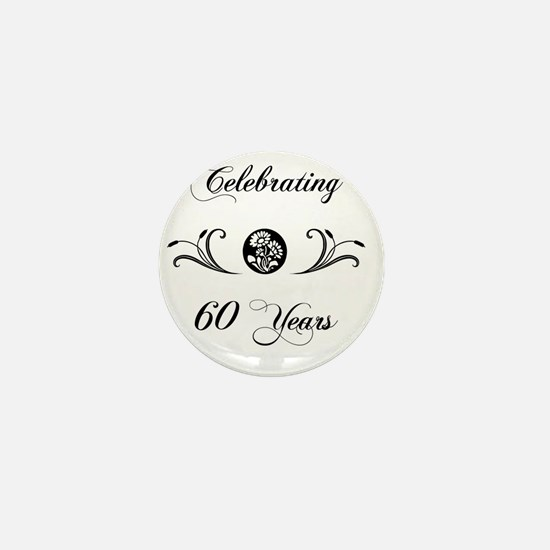 60th Wedding Anniversary Gifts Mini Button