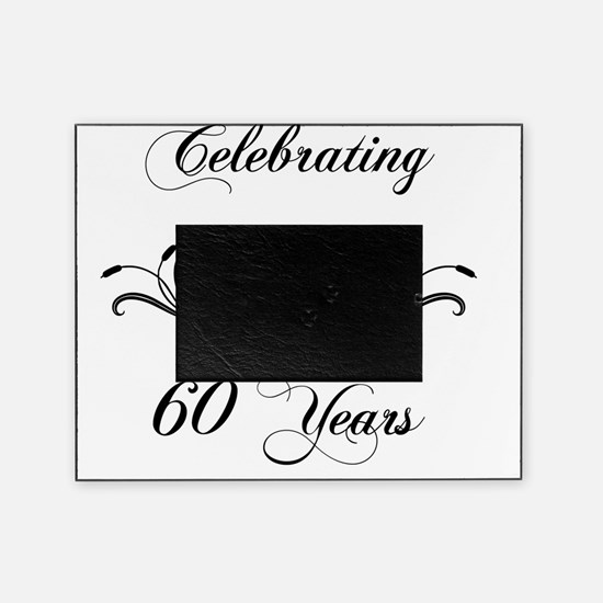 60th Wedding Anniversary Gifts Picture Frame