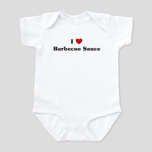 I love Barbecue Sauce Infant Bodysuit