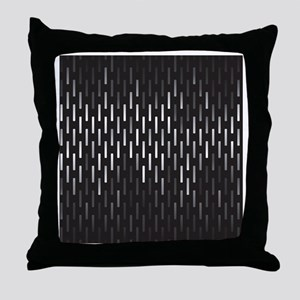 Stylish Black Throw Pillow