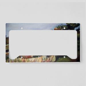 Gettysburg Battlefield Civil  License Plate Holder