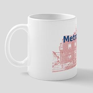Metropolis_Rect_Superman_BlueRedBg Mug
