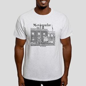 Metropolis_10x10_Superman_Black Light T-Shirt