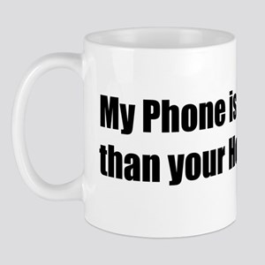 smart phone humor Mug