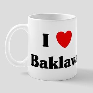 I love Baklava Mug