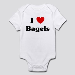 I love Bagels Infant Bodysuit
