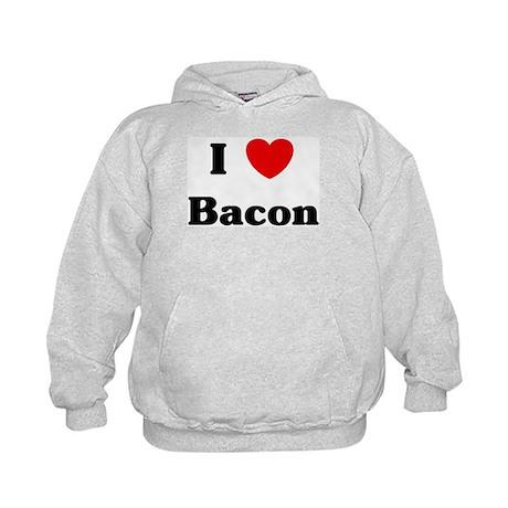 I love Bacon Kids Hoodie