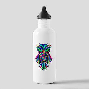 Owl Design Stainless Water Bottle 1.0L