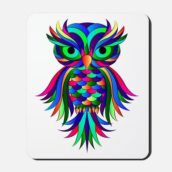 Owl Design Mousepad