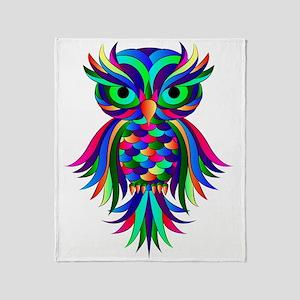 Owl Design Throw Blanket