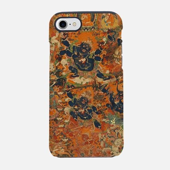 Mahakala Thangka iPhone 7 Tough Case