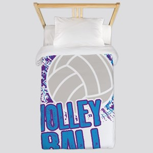 Volleyball Splatter Twin Duvet