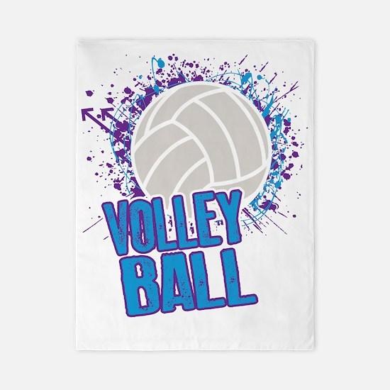 Volleyball Splatter Twin Duvet