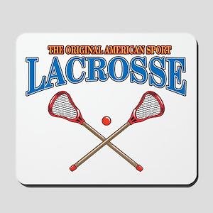 Lacrosse Original Americas Sport Mousepad