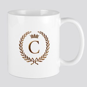 Napoleon initial letter C monogram Mug