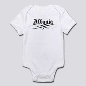 Albania Gothic Infant Bodysuit