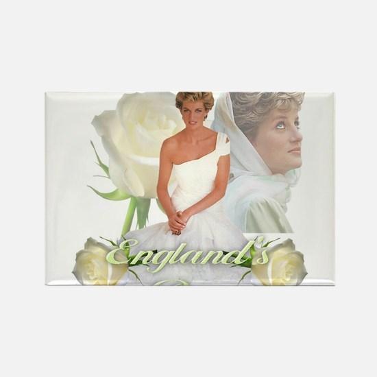 Princess Diana England's Rose Magnets