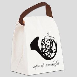 Unique & Wonderful Canvas Lunch Bag