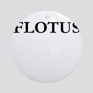 FLOTUS Round Ornament
