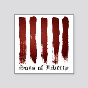 "Sons of Liberty Square Sticker 3"" x 3"""