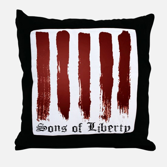 Sons of Liberty Throw Pillow
