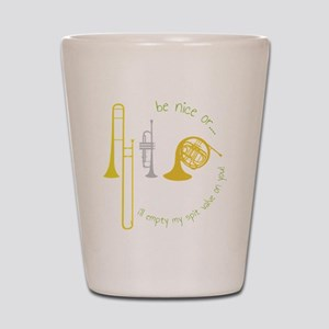 Be Nice Shot Glass
