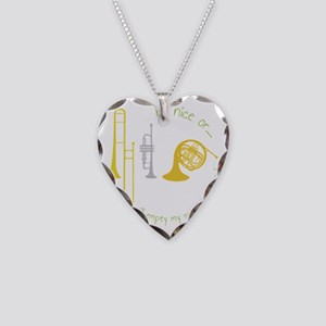 Be Nice Necklace Heart Charm