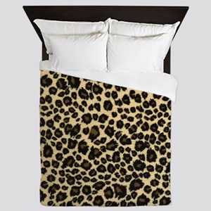 Leopard Print Queen Duvet