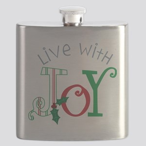 Live With Joy Flask