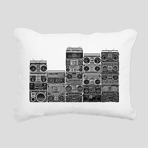 BOOMBOX COLLECTION Rectangular Canvas Pillow