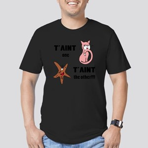 Taint one taint the ot Men's Fitted T-Shirt (dark)