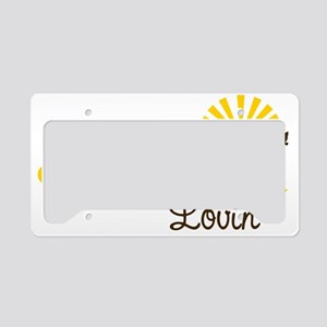 Summer Lovin License Plate Holder