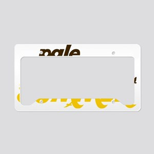 Pale License Plate Holder