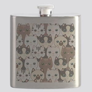 Cute Cats Flask