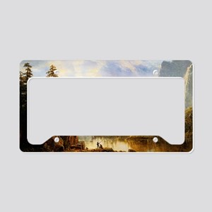 Albert Bierstadt Yosemite Val License Plate Holder
