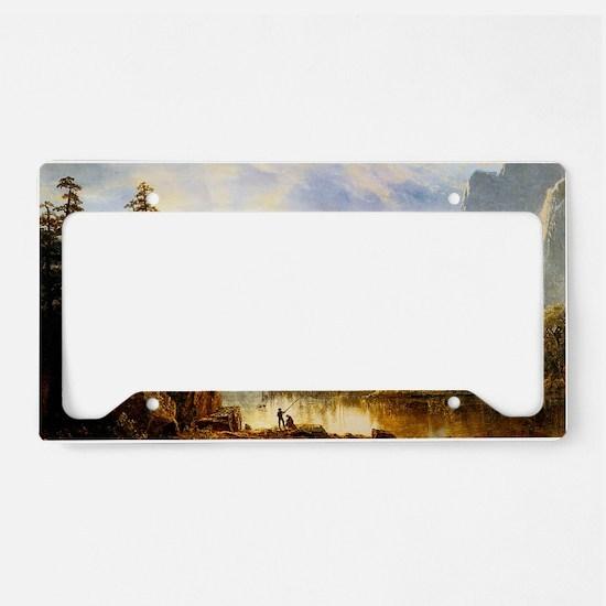 Albert Bierstadt Yosemite Val License Plate Holder
