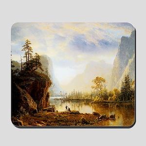 Albert Bierstadt Yosemite Valley Mousepad