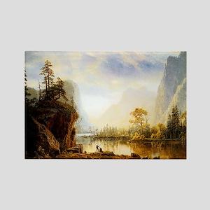 Albert Bierstadt Yosemite Valley Rectangle Magnet