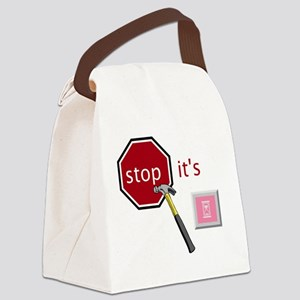 Stop, it's hammertime! Canvas Lunch Bag
