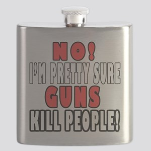 Guns Kill Flask