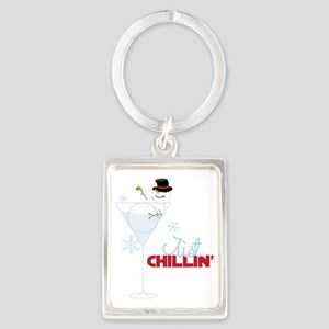 Just Chillin Portrait Keychain