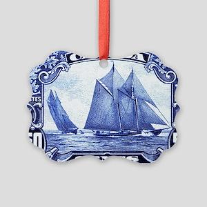 1929 Canada Bluenose Schooner Pos Picture Ornament