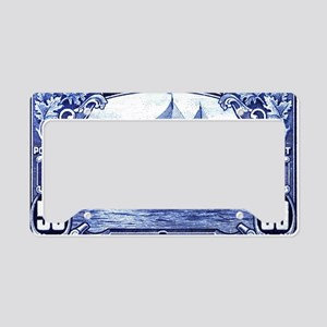 1929 Canada Bluenose Schooner License Plate Holder