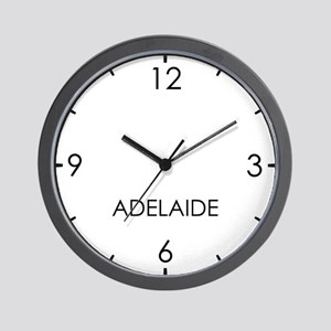 ADELAIDE World Clock Wall Clock