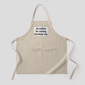 Rather be eating Artichoke Di BBQ Apron