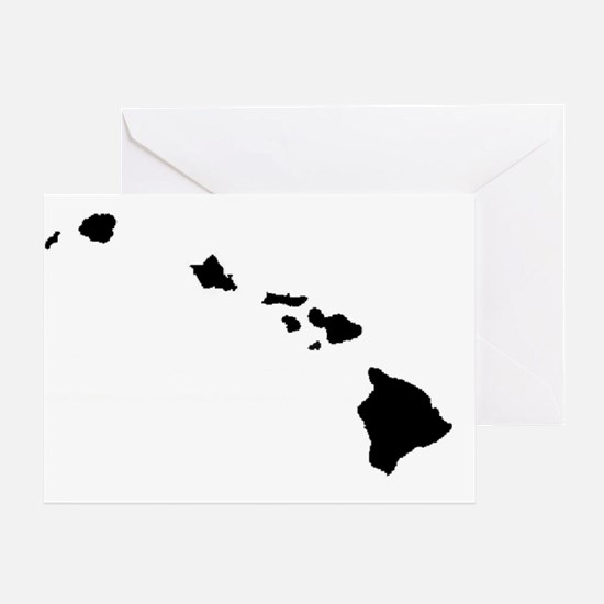 Hawaiian Islands Greeting Card