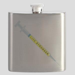 Live Stronger Flask