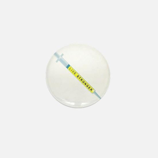 Live Stronger Mini Button