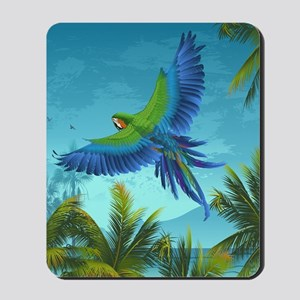 Tropical Bird Mousepad