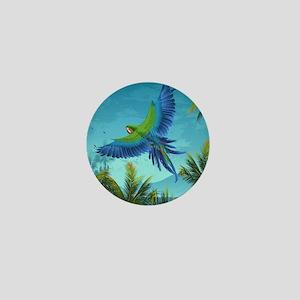 Tropical Bird Mini Button